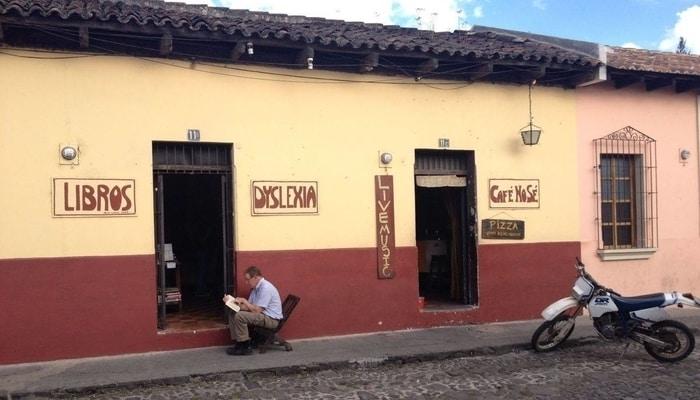 Cafe No Se, Antigua, Guatemala