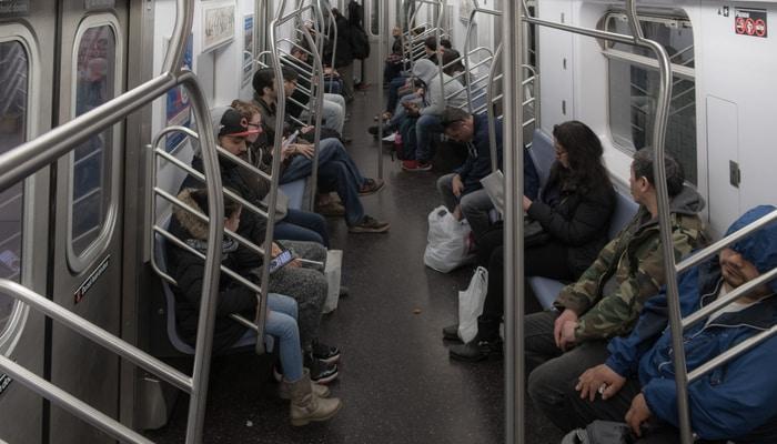 Some northern city subway / Digital nomads