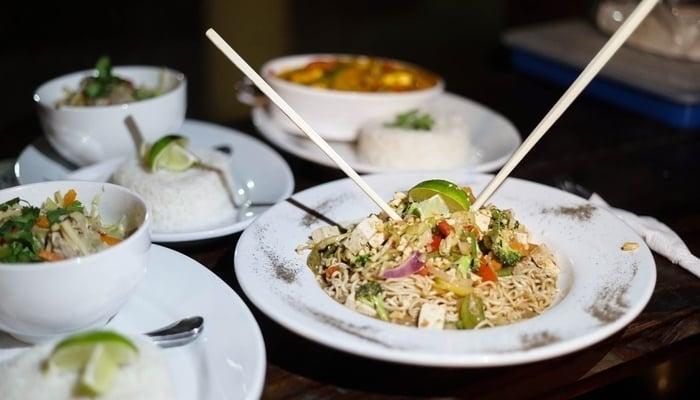 Guatemala Beaches: Asian cuisine in El Paredón