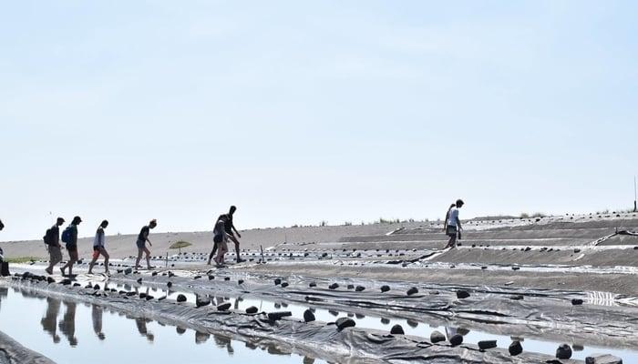 Guatemala Beaches: Salt farm, El Paredón