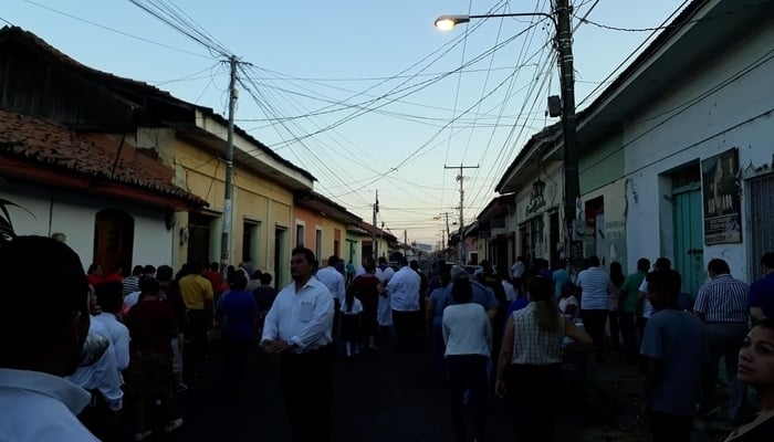 Streets of San Felipe, Leon, Nicaragua