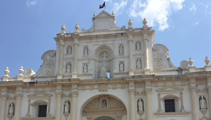 Driving around Central America: Antigua, Guatemala