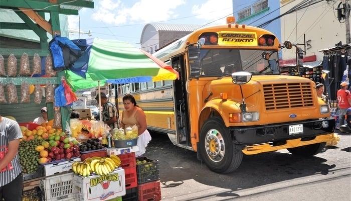 Driving around Central America: Tegucigalpa, Honduras