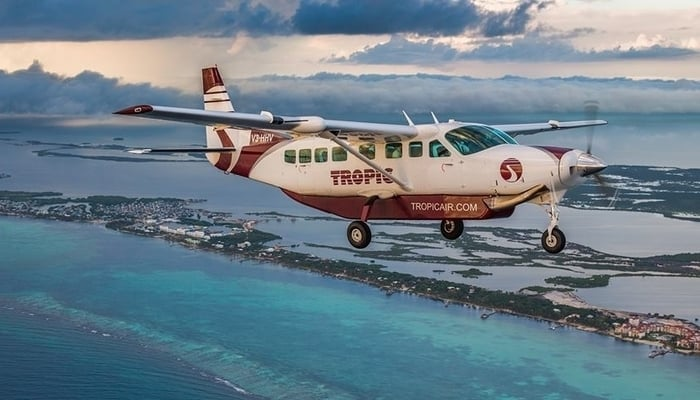 Getting around Belize: Flying out to San Pedro, Belize