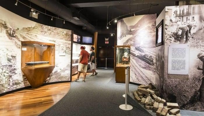 Miraflores Locks, Panama Canal: The museum