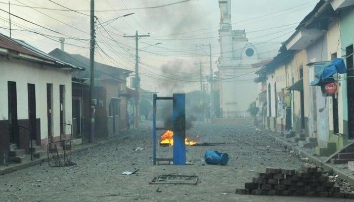 Nicaragua protests April 2018: Masaya