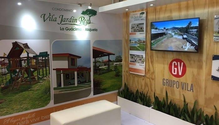 Real estate in Costa Rica: Grupo Vila stand at Expocasa