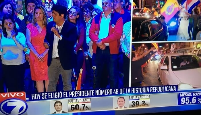 Speaking Spanish in Central America: Watching the Costa Rican election on the Costa Rican news