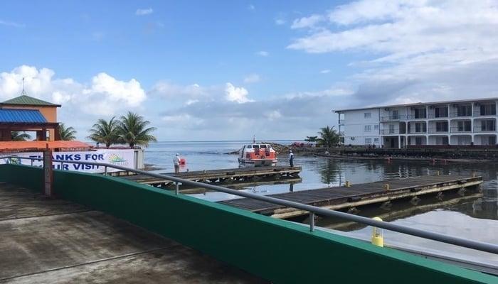 Порт бананового побережья, Трухильо, Гондурас