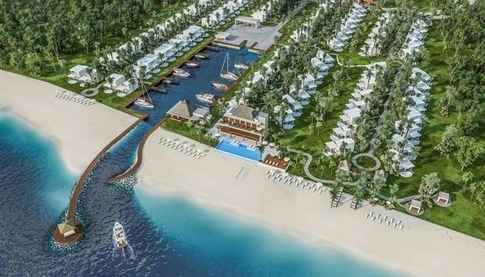 Впечатление художника о Njoi Beach Residences, Трухильо, Гондурас