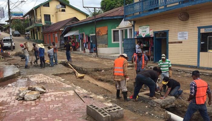 Improving infrastructure in Trujillo, Honduras