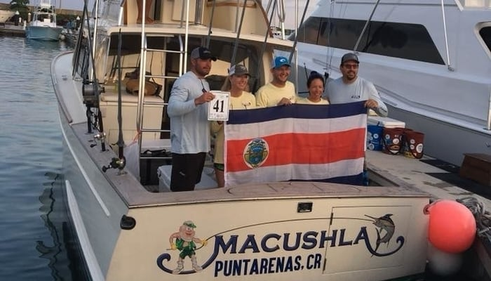 2018 World Offshore Championship, Quepos, Costa Rica: Macushla