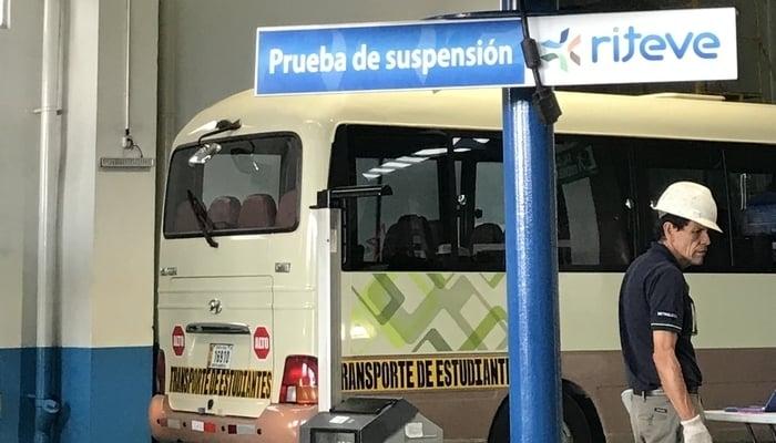 Riteve Costa Rica suspension test