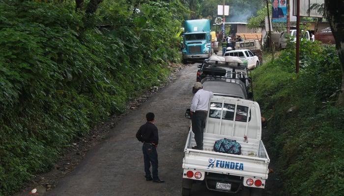 Roads in Central America: The road from Senahu to Antigua, Guatemala