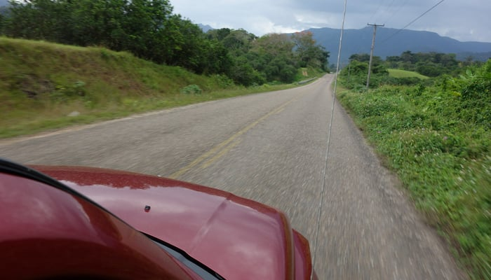 Roads in Central America: The Hummingbird Highway, Belize