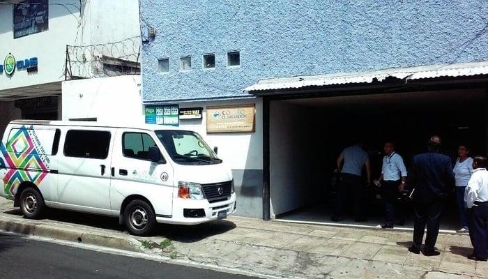 A post office in El Salvador