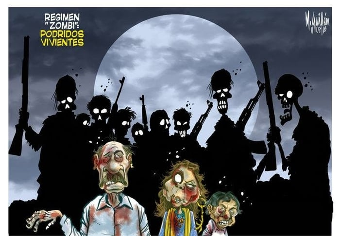 And talking of The Walking Dead... Daniel Ortega and his zombie regime