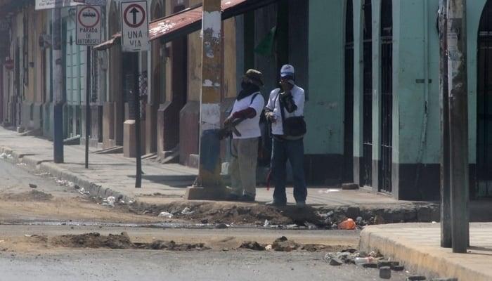 Daniel Ortega: Paramilitaries on the streets of Leon
