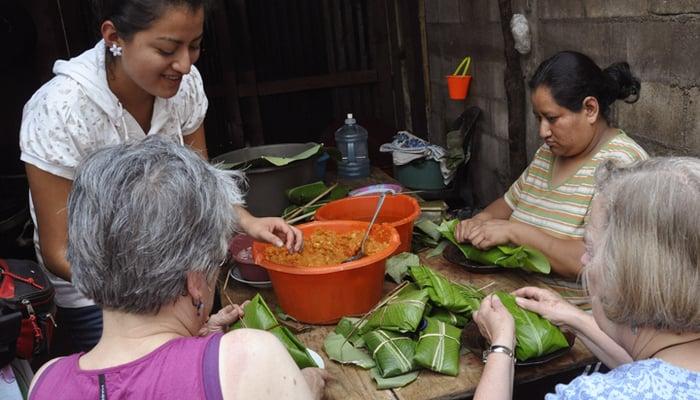 Guatemalan Food Culture: Making tamales in Guatemala