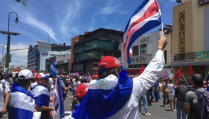 Costa Rica Peace March, San Jose, August 2018 / James Dyde