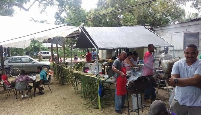 Belize Barbecue / Paul Roberts Facebook