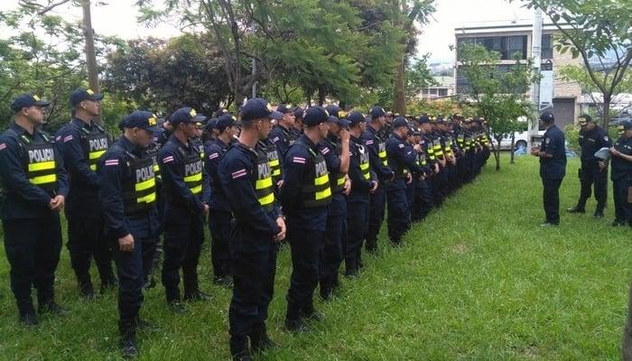 Costa Rica's Murder Rate / Fuerza Publica de Costa Rica Facebook Page