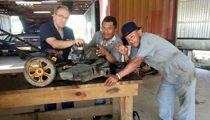 Education in Belize: Trades 4 Life students / Trades 4 Life Facebook page