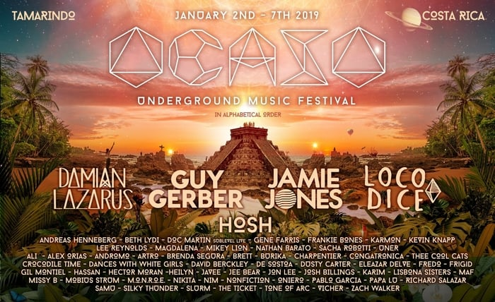 The Ocaso Underground Music Festival