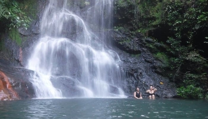 Waterfalls in Belize / Tiger Fern Waterfall / Photo credit to TREE Facebook Page