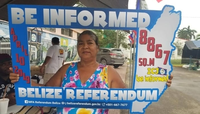 Guatemala v Belize Territory Dispute / Photo credit to MFA Referendum Belize Facebook Page