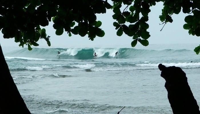 Costa Rica Surf: Salsa Brava, Puerto Viejo / Maximiliano Marinucci (Facebook)