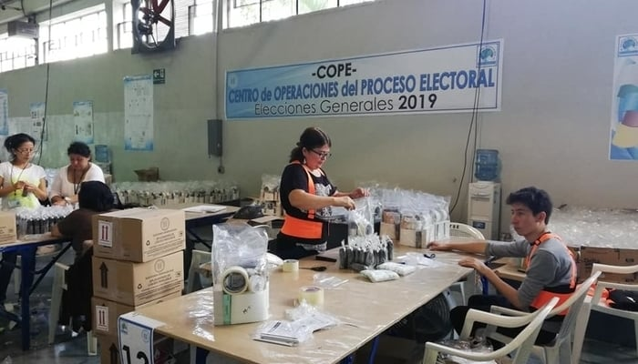 Guatemala election 2019 preparations / TSE Guatemala Facebook Page