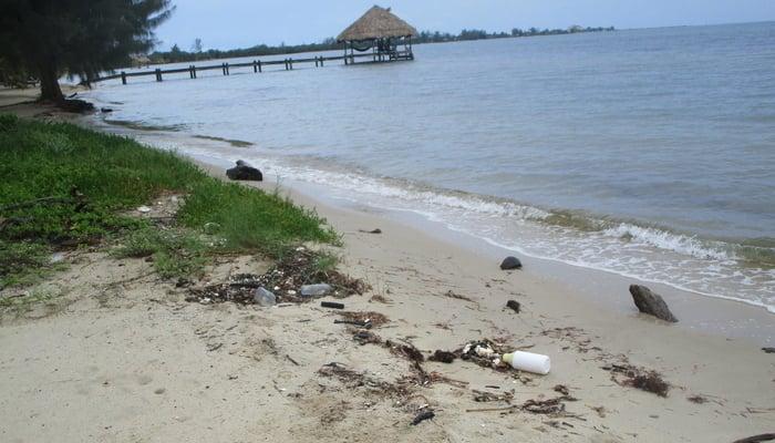Belize Beach Trash / Gary Peterson