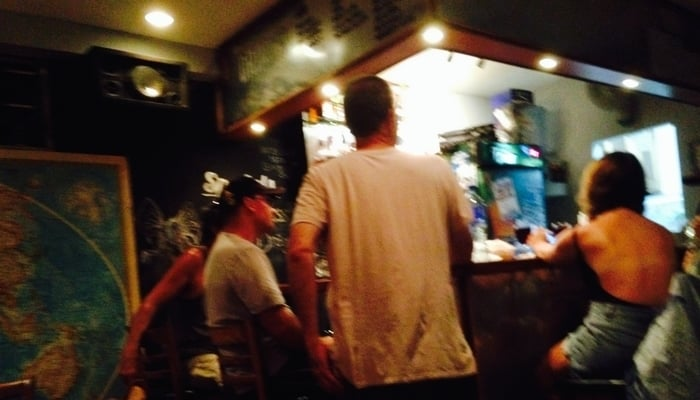Cultural Stereotypes: Gringos in an expat bar in San Juan del Sur, Nicaragua / Photo credit to James Dyde