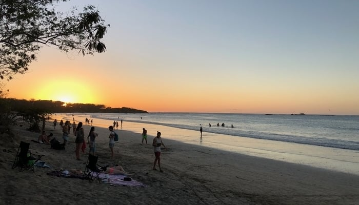 Central America Surfing / Playa Tamarindo / Photo credit to James Dyde