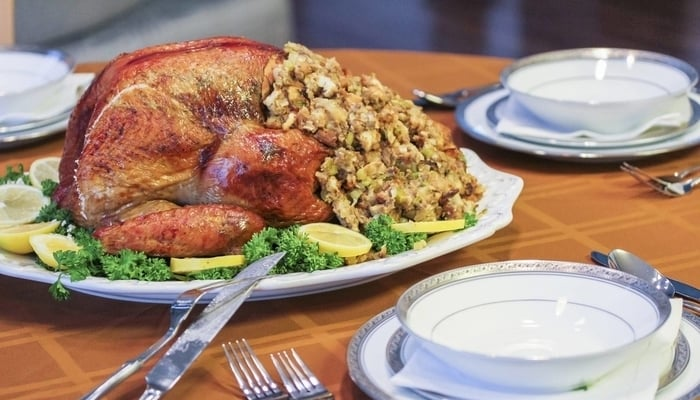 Thanksgiving in Central America / Full turkey with all the trimmings / Embassy Suites by Hilton Orlando Lake Buena Vista Resort Facebook Page