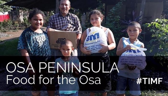 Support Costa Rica / Comida para la Osa