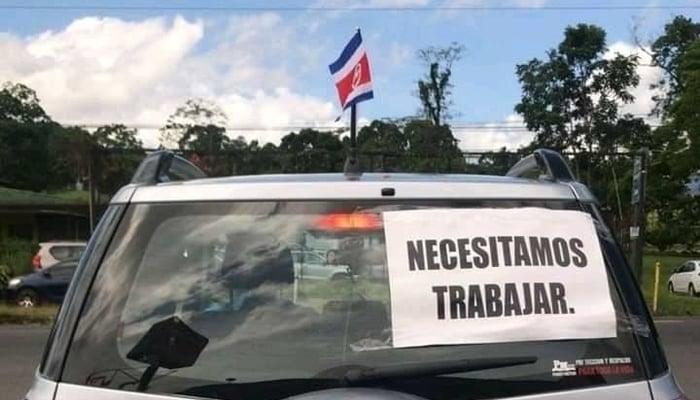 Protests in Central America / Policia en Costa Rica Facebook Page