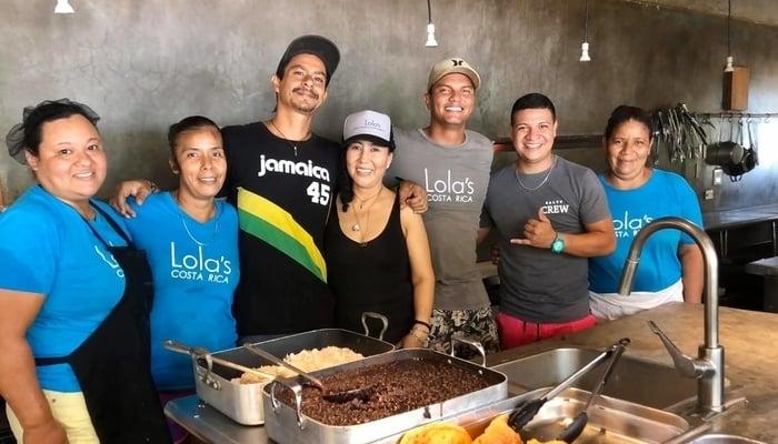 Lola's Playa Avellanas Costa Rica / Photo credit to Lola's Facebook Page