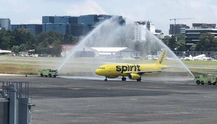 La Aurora Airport Protocols / Photo credit to Aeropuerto Internacional La Aurora, Ciudad de Guatemala Facebook Page