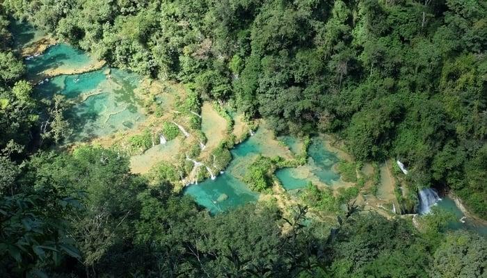 Semuc Champey Guatemala / Photo by Christopher Crouzet on Unsplash