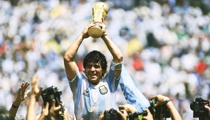 Diego Maradona / Daily Times Facebook Page