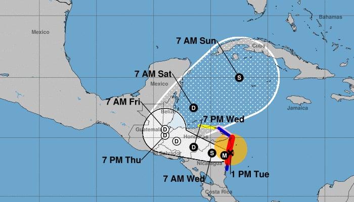 Hurricane Eta / Wikipedia