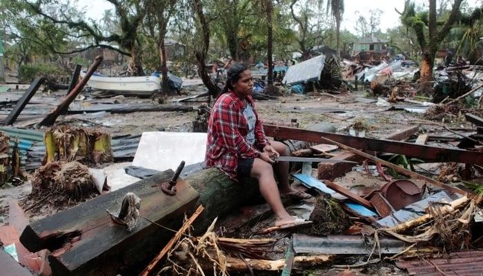 Hurrican Iota aftermath / Photo credit to Al Jazeera English Facebook Page