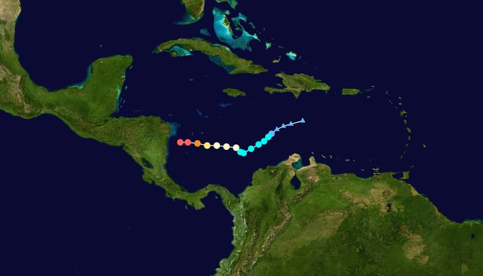 Hurricane Iota Central America / Wikipedia
