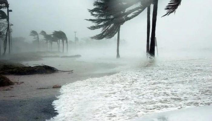 Hurricane Iota Landfall / Photo credit to Canal 10 Nicaragua Facebook Page